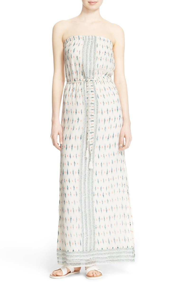 f0e5adeb132 Joie  Sedco  Strapless Silk Print Maxi Dress