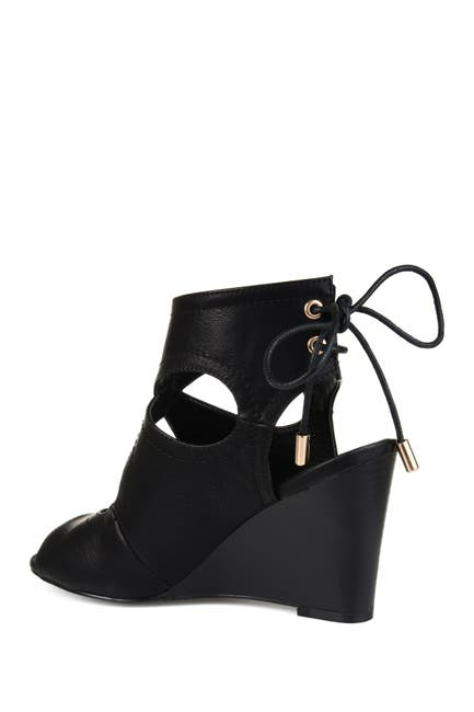 Image of JOURNEE Collection Camia Wedge Sandal