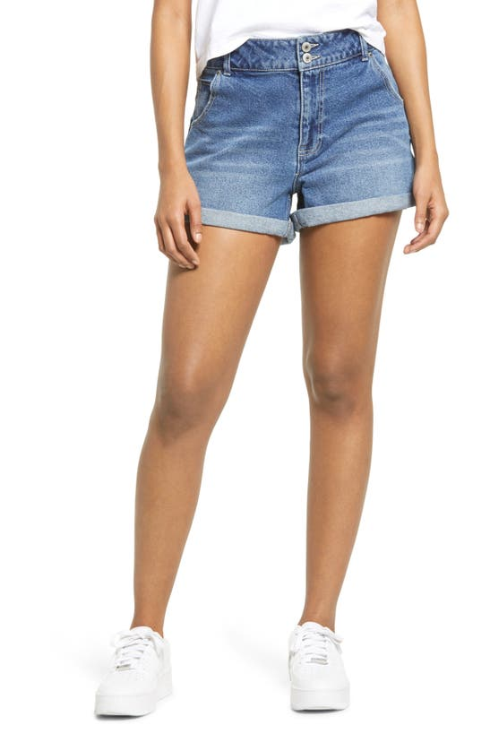 Sts Blue Denims JULIA HIGH WAIST DENIM SHORTS