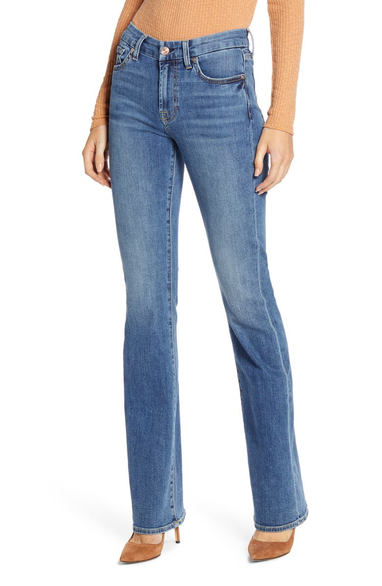 7 FOR ALL MANKIND<SUP>®</SUP> b(air) Kimmie Bootcut Jeans, Main, color, BAIR AUTHENTIC DESTINY
