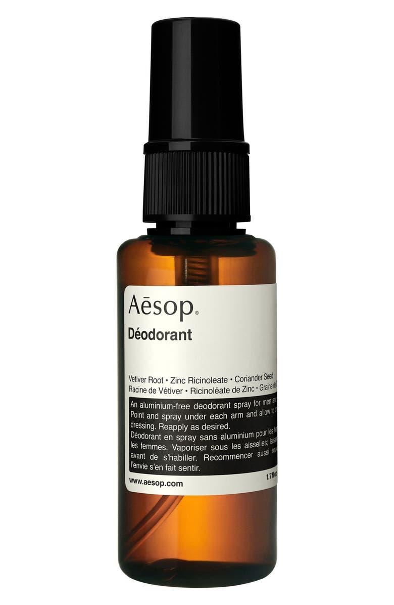 AESOP Spray Deodorant, Main, color, NONE
