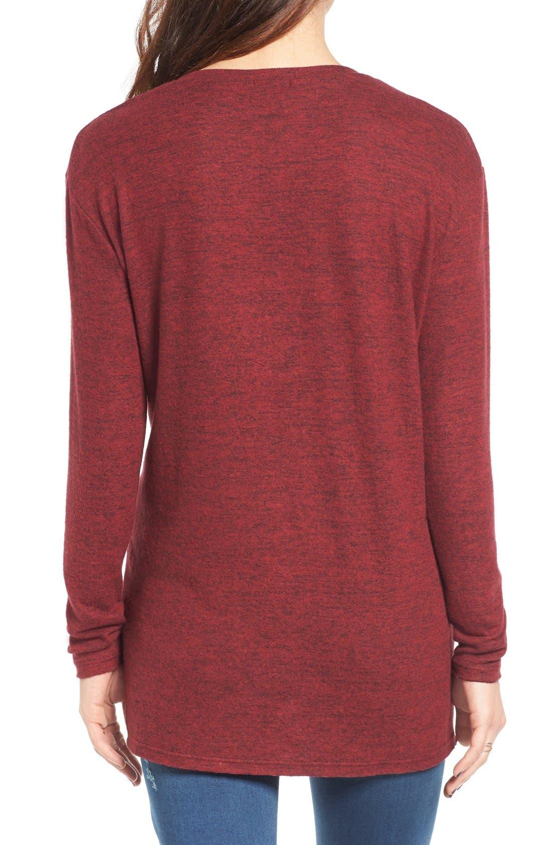 ,                             Cozy V-Neck Sweater,                             Alternate thumbnail 63, color,                             601