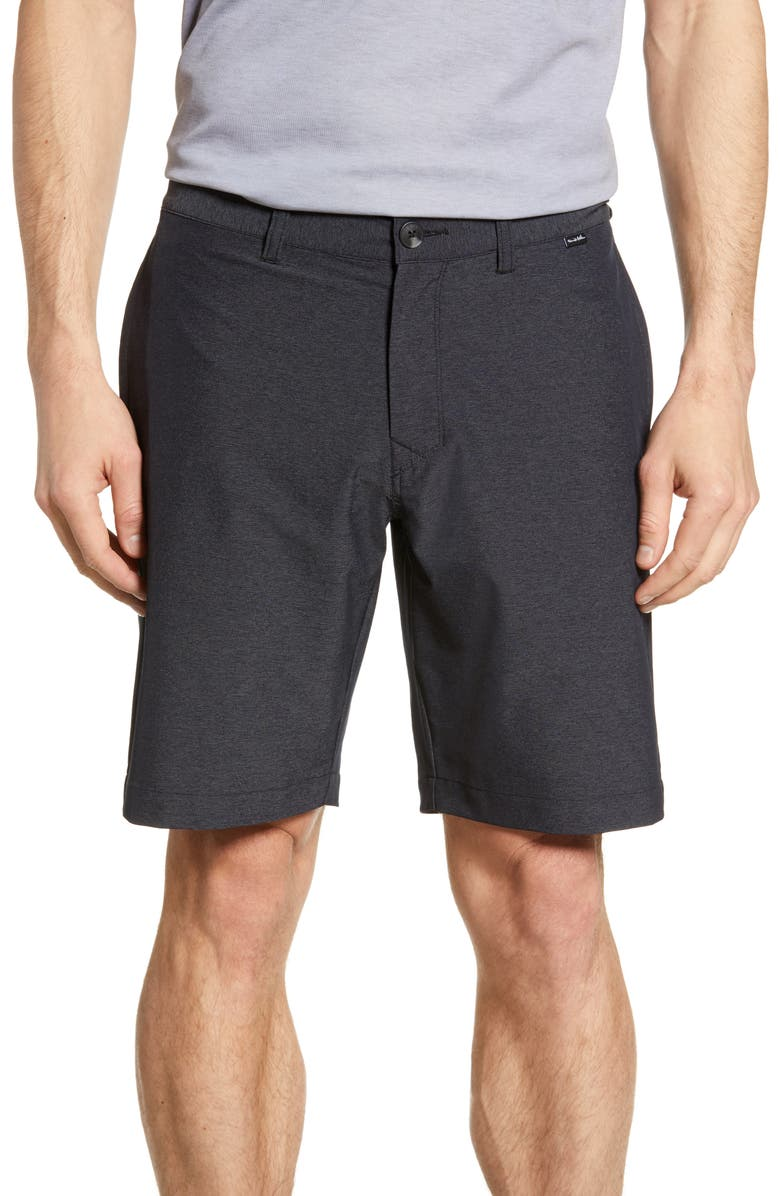 TRAVISMATHEW Travis Mathew Templeton Shorts, Main, color, 001