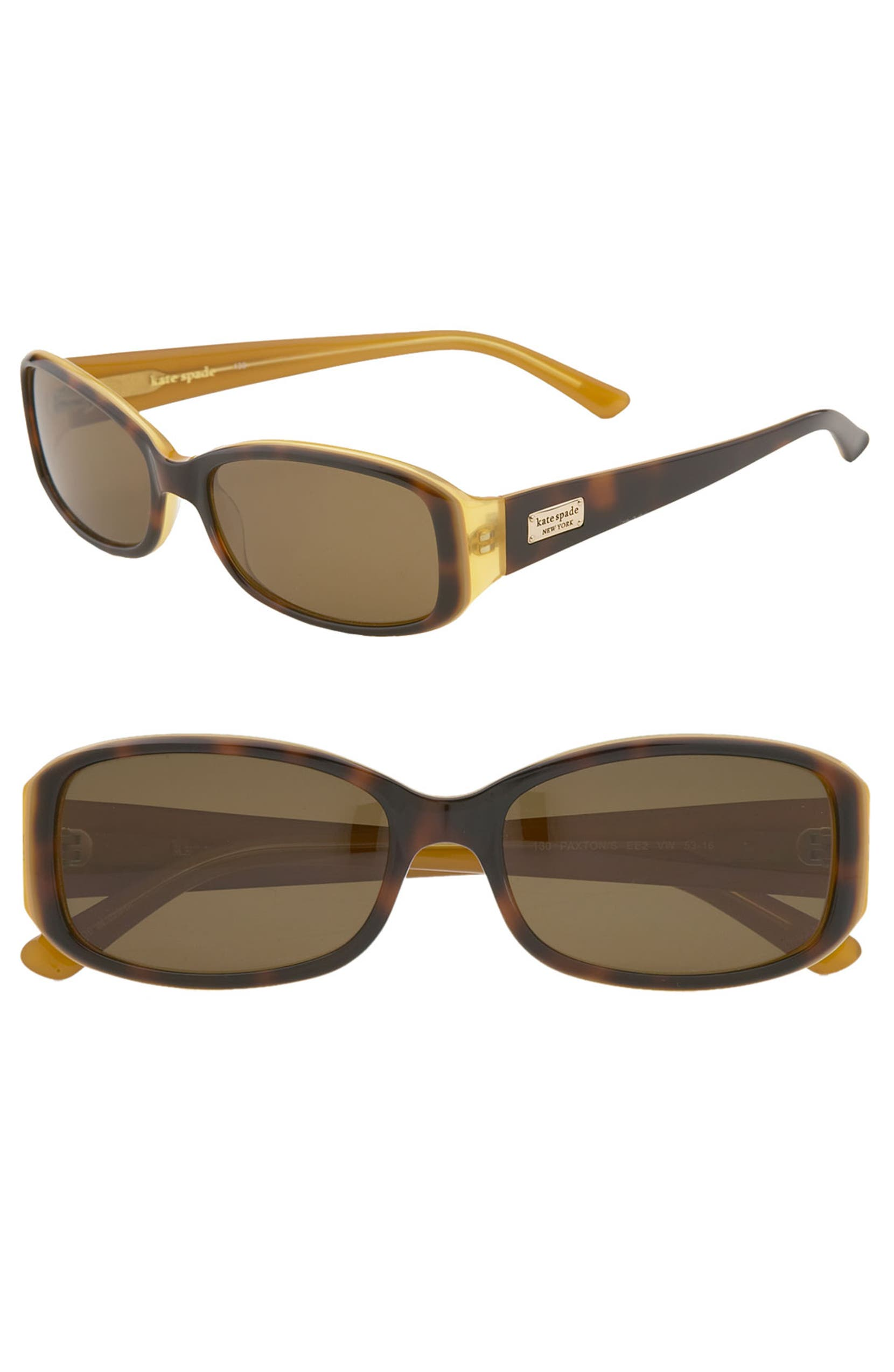 0129e9bff0e44 kate spade new york  paxton  53mm polarized sunglasses