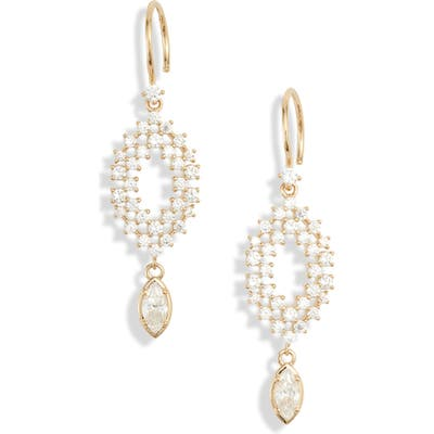 Nadri Mila Marquise Drop Earrings