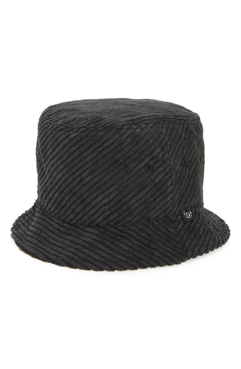 TREASURE & BOND Corduroy Bucket Hat, Main, color, 001