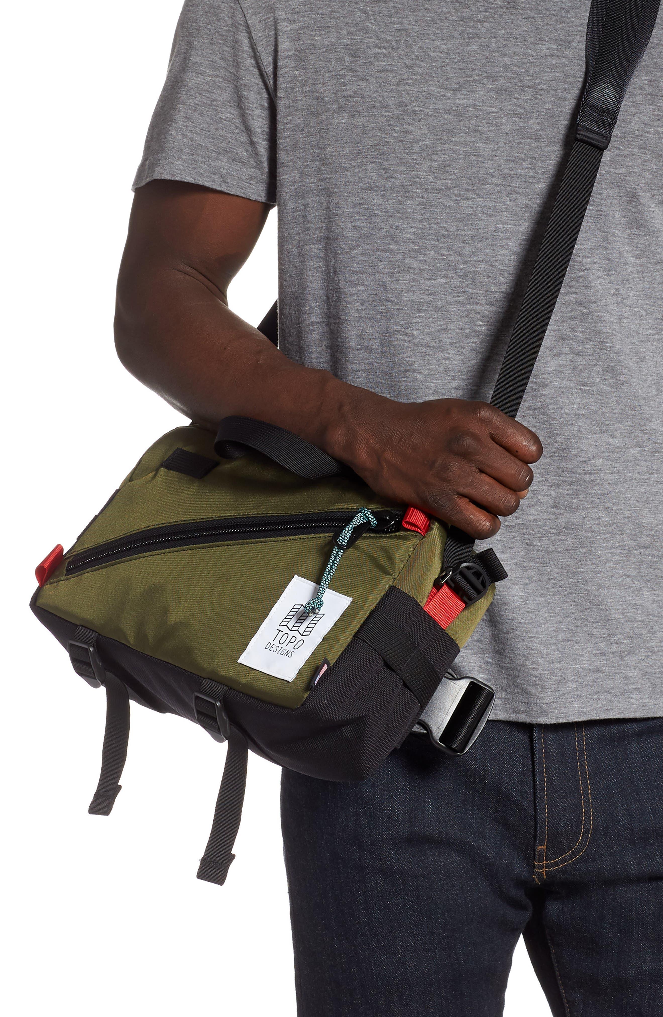 ,                             Quick Pack Belt Bag,                             Alternate thumbnail 5, color,                             OLIVE/ BLACK
