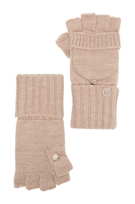 Image of Calvin Klein Pop Top Mittens