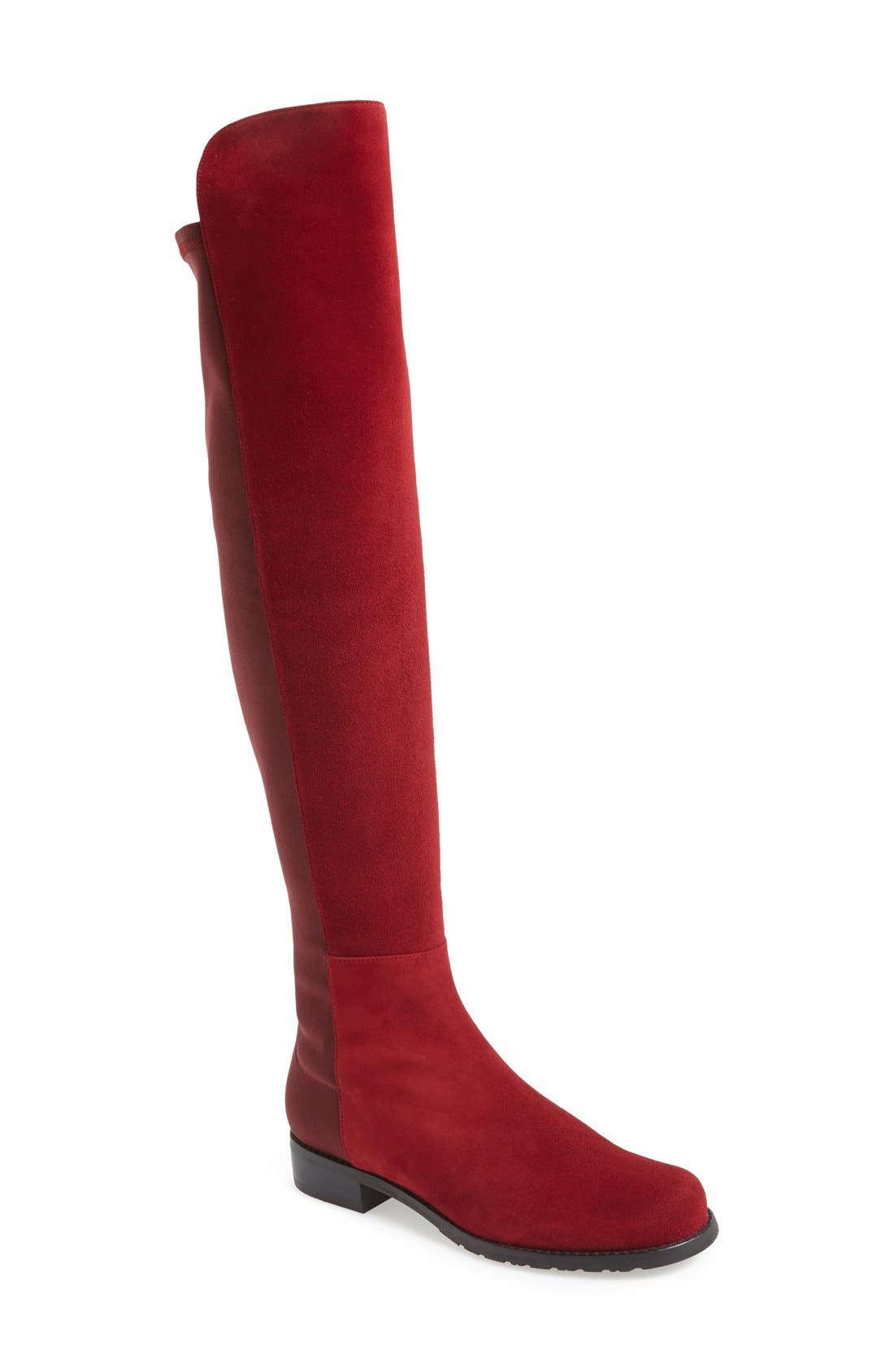 ,                             5050 Over the Knee Leather Boot,                             Main thumbnail 53, color,                             610