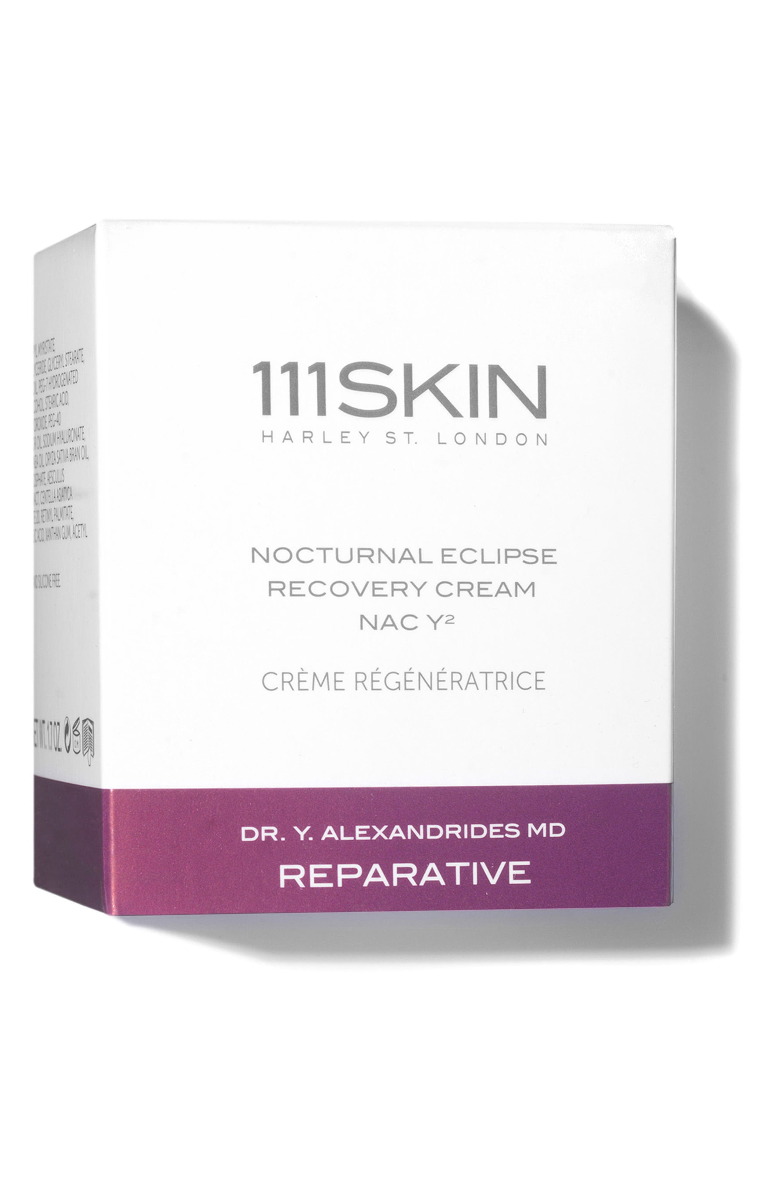 ,                             SPACE.NK.apothecary 111SKIN Nocturnal Eclipse Recovery Cream NAC Y2,                             Alternate thumbnail 4, color,                             NO COLOR