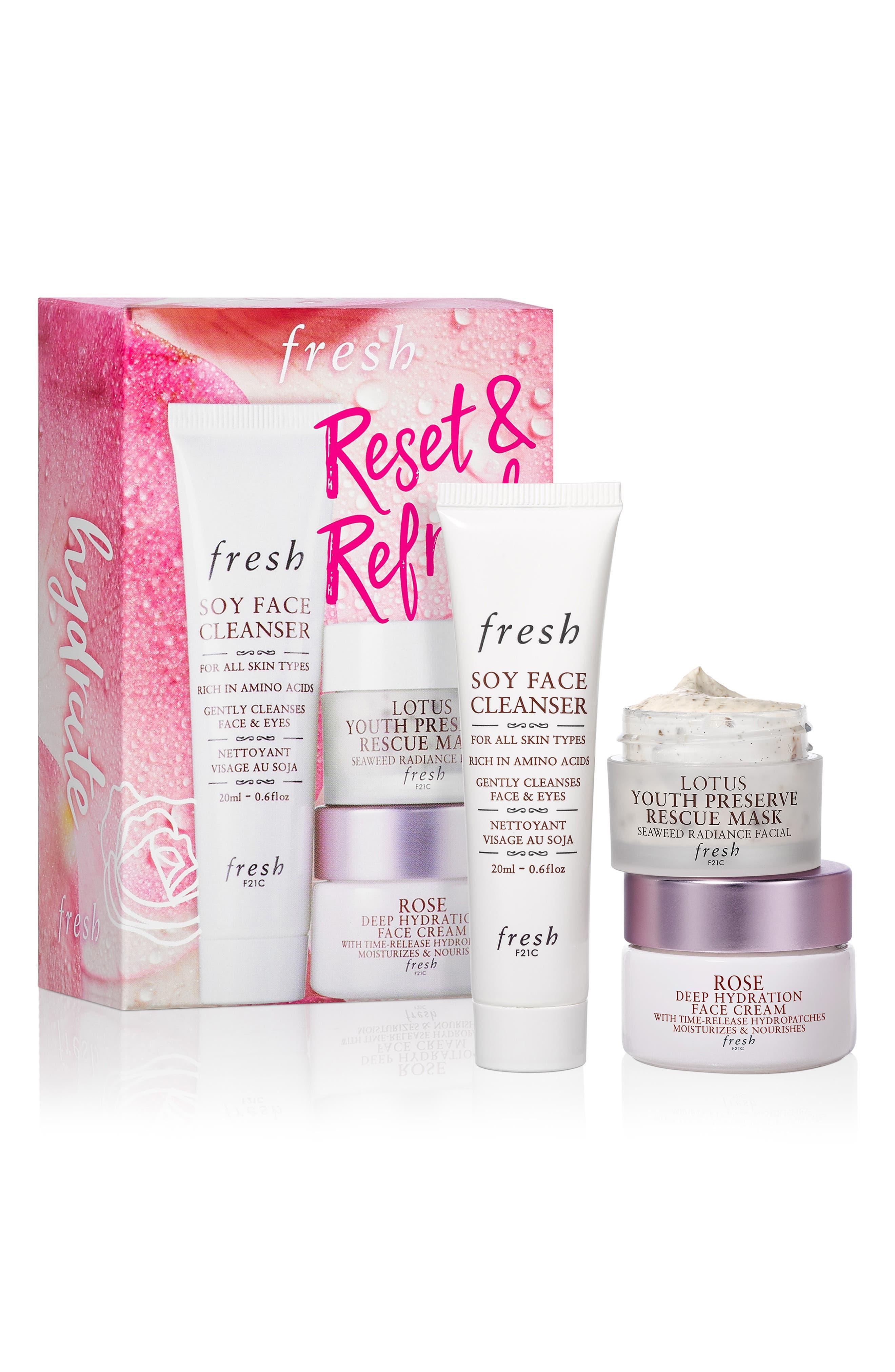 ,                             Reset & Refresh Skin Care Set,                             Alternate thumbnail 2, color,                             NO COLOR