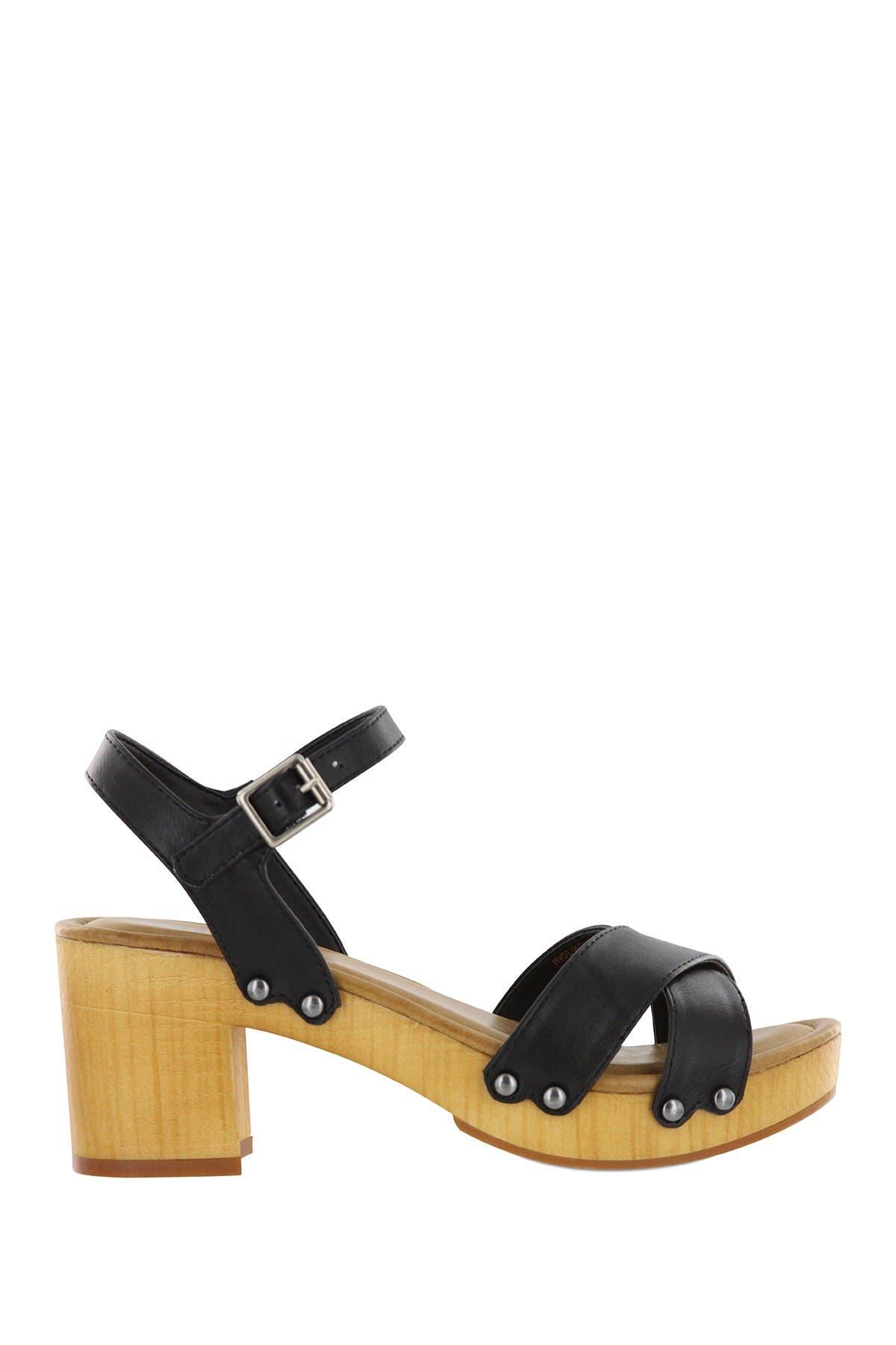 MIA | Susan Platform Clog Sandal
