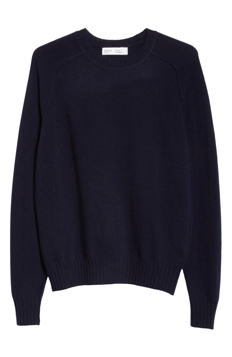 ENTIREWORLD Type A Version 6 Wool Sweater, Main, color, NAVY