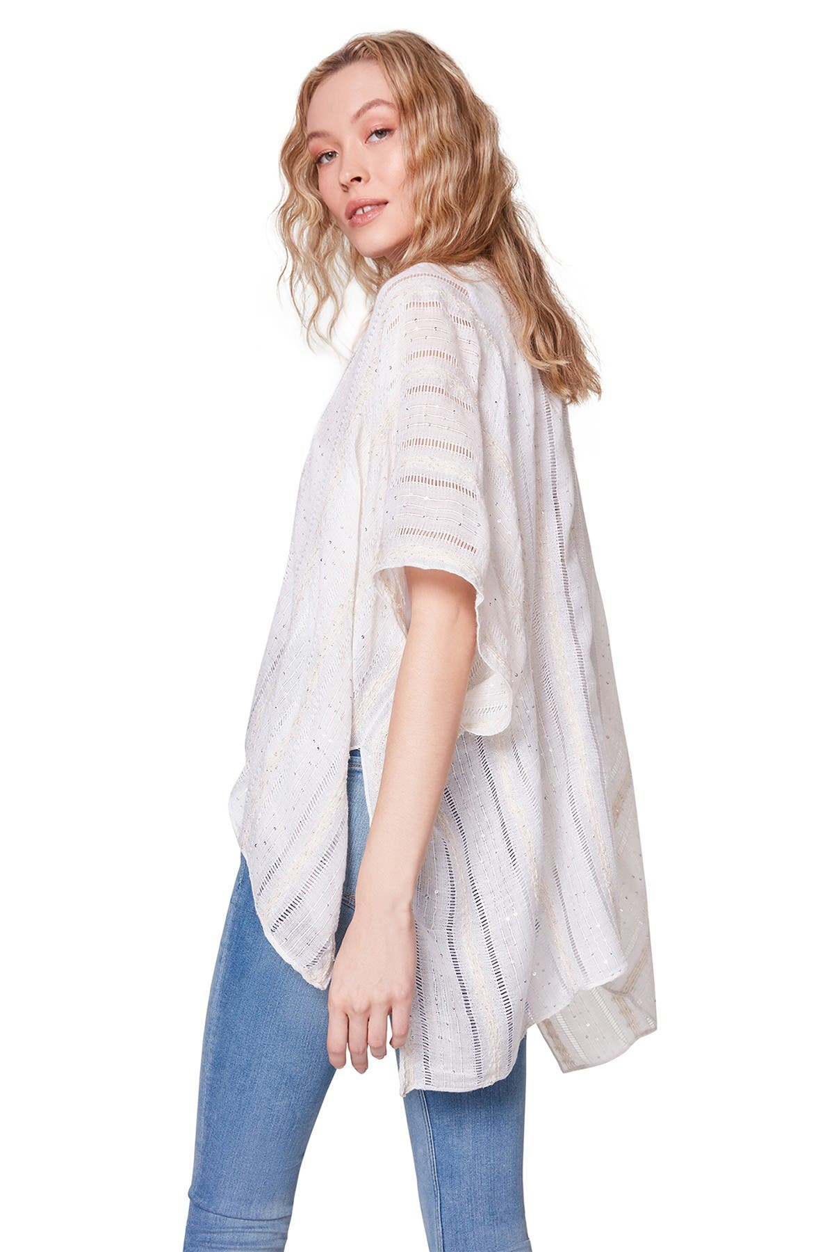 Steve Madden Accessories LADDER WOVEN COVER-UP