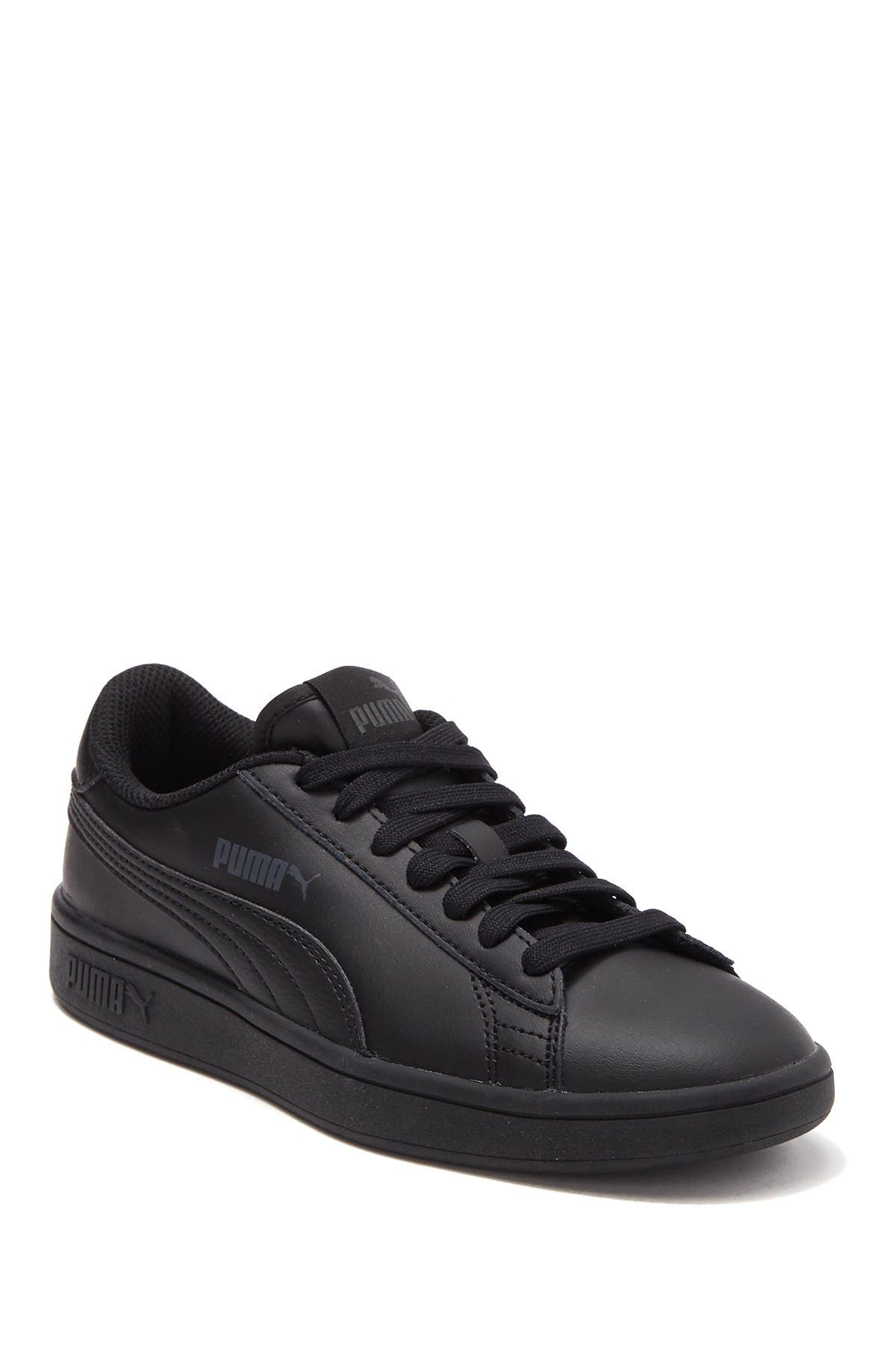 PUMA   Smash V2 L JR Leather Sneaker