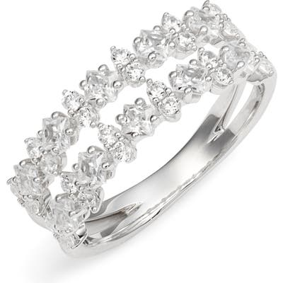 Nadri Double Band Cubic Zirconia Ring