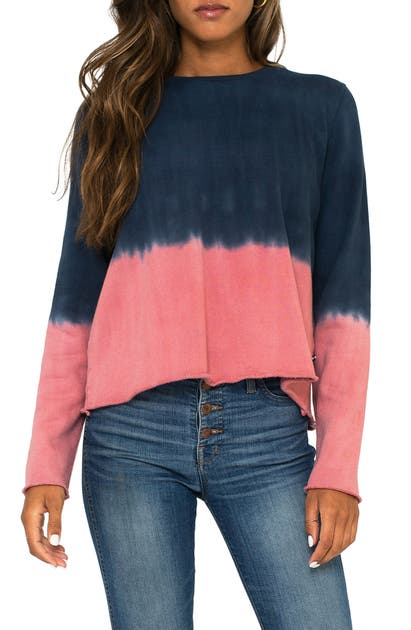 Sol Angeles DIP DYE SWEATSHIRT