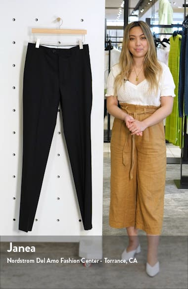 Flat Front Twill Wool Dress Pants, sales video thumbnail