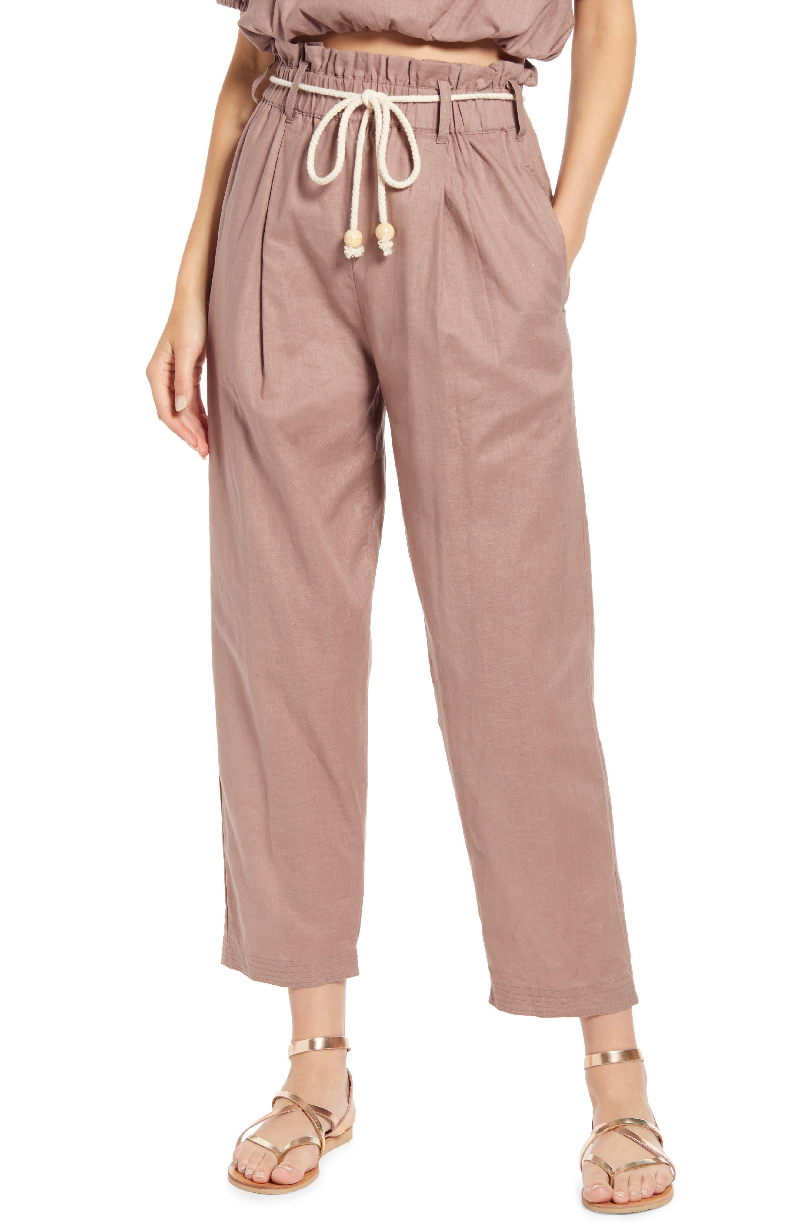Kali Hemp & Organic Cotton Paperbag Pants