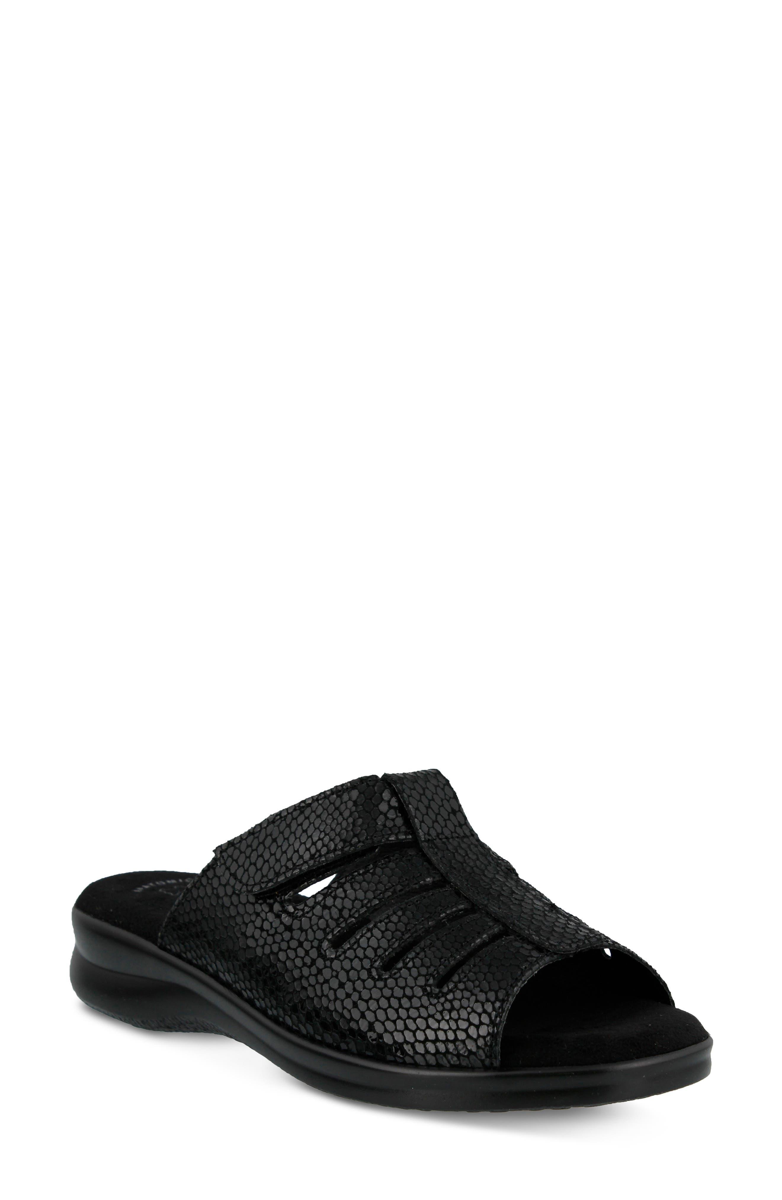 Vamp Slide Sandal