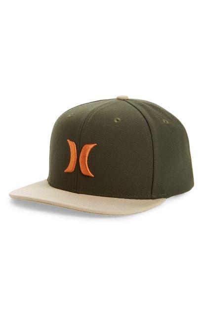 Hurley Icon Trucker Hat In Sequoia