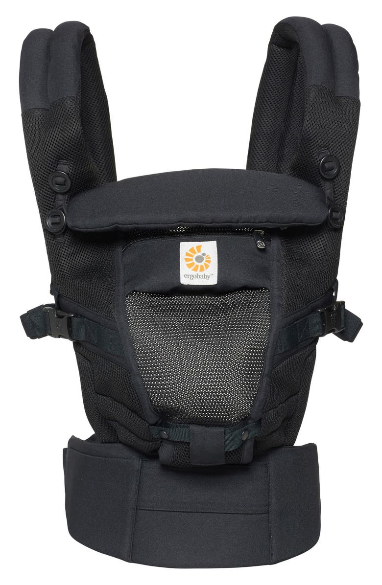 ERGOBABY Three Position ADAPT Baby Carrier, Main, color, ONYX BLACK