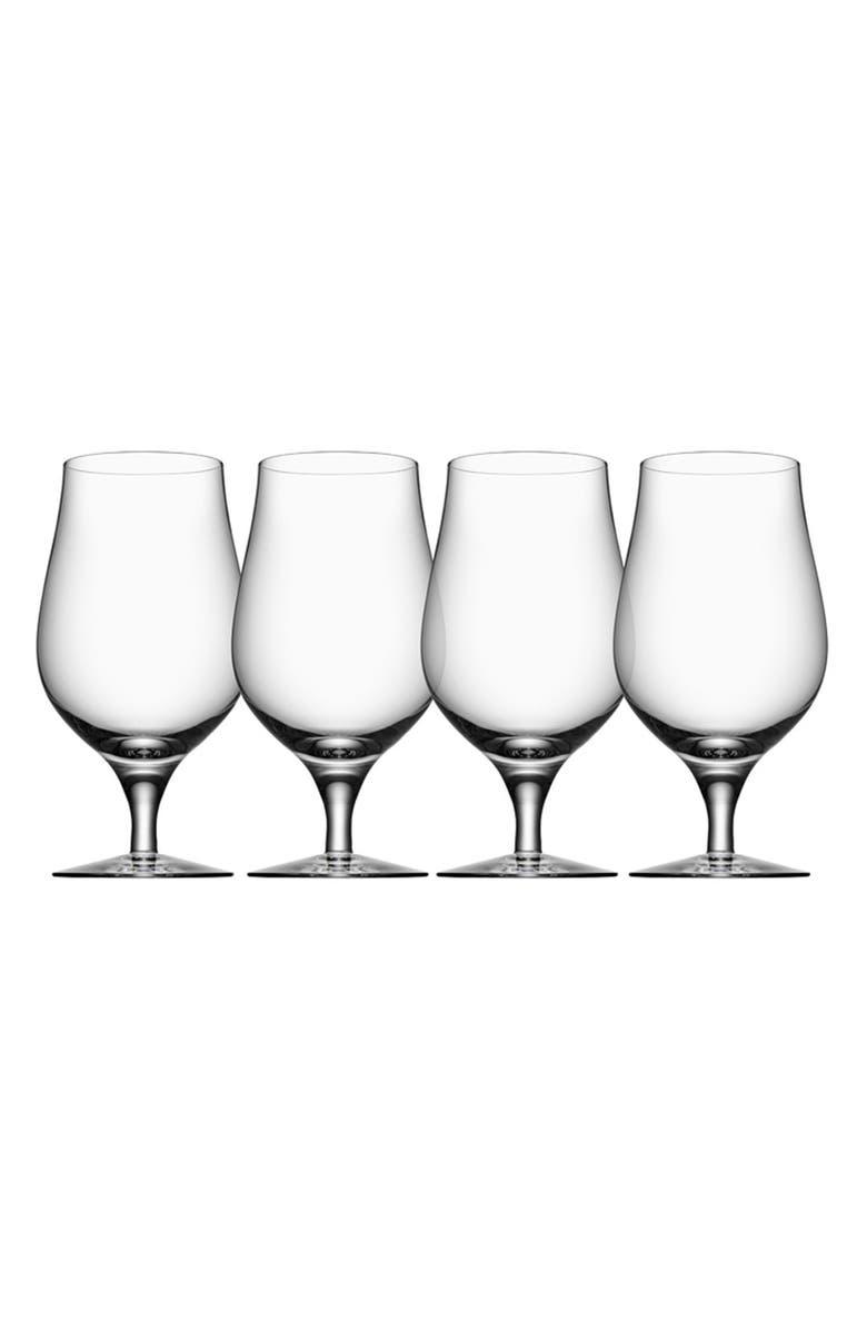 ORREFORS 'Taster' Glasses, Main, color, WHITE