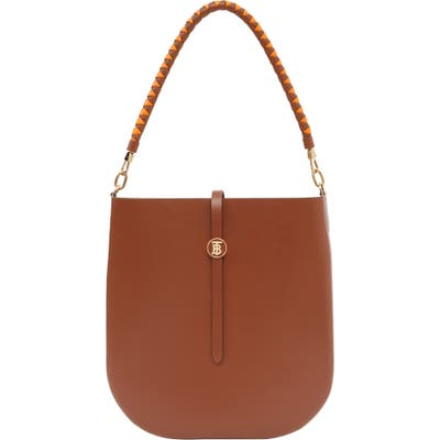 Burberry Anne Smooth Leather Bag - Brown