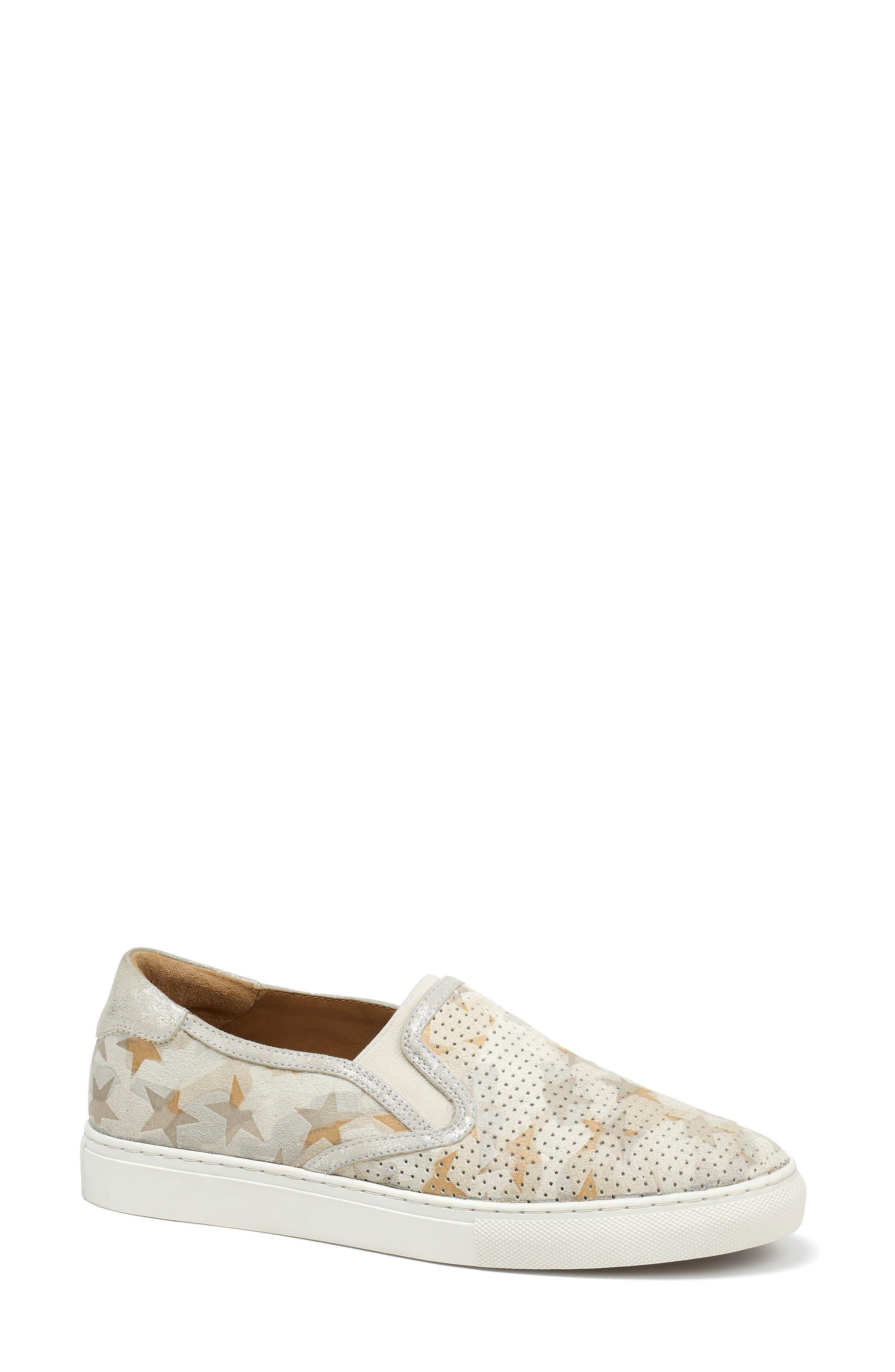 Trask Lillian Water Resistant Slip-On Sneaker, Ivory