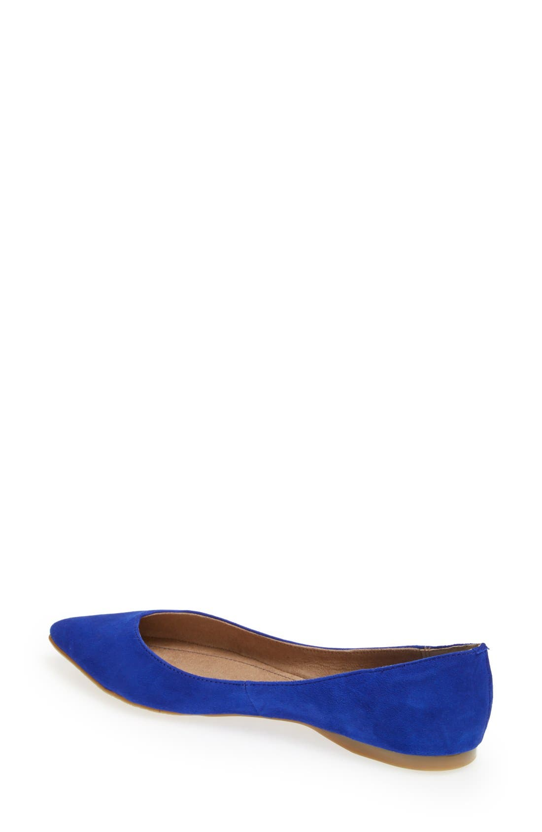 ,                             'Moveover' Pointy Toe Leather Flat,                             Alternate thumbnail 25, color,                             420