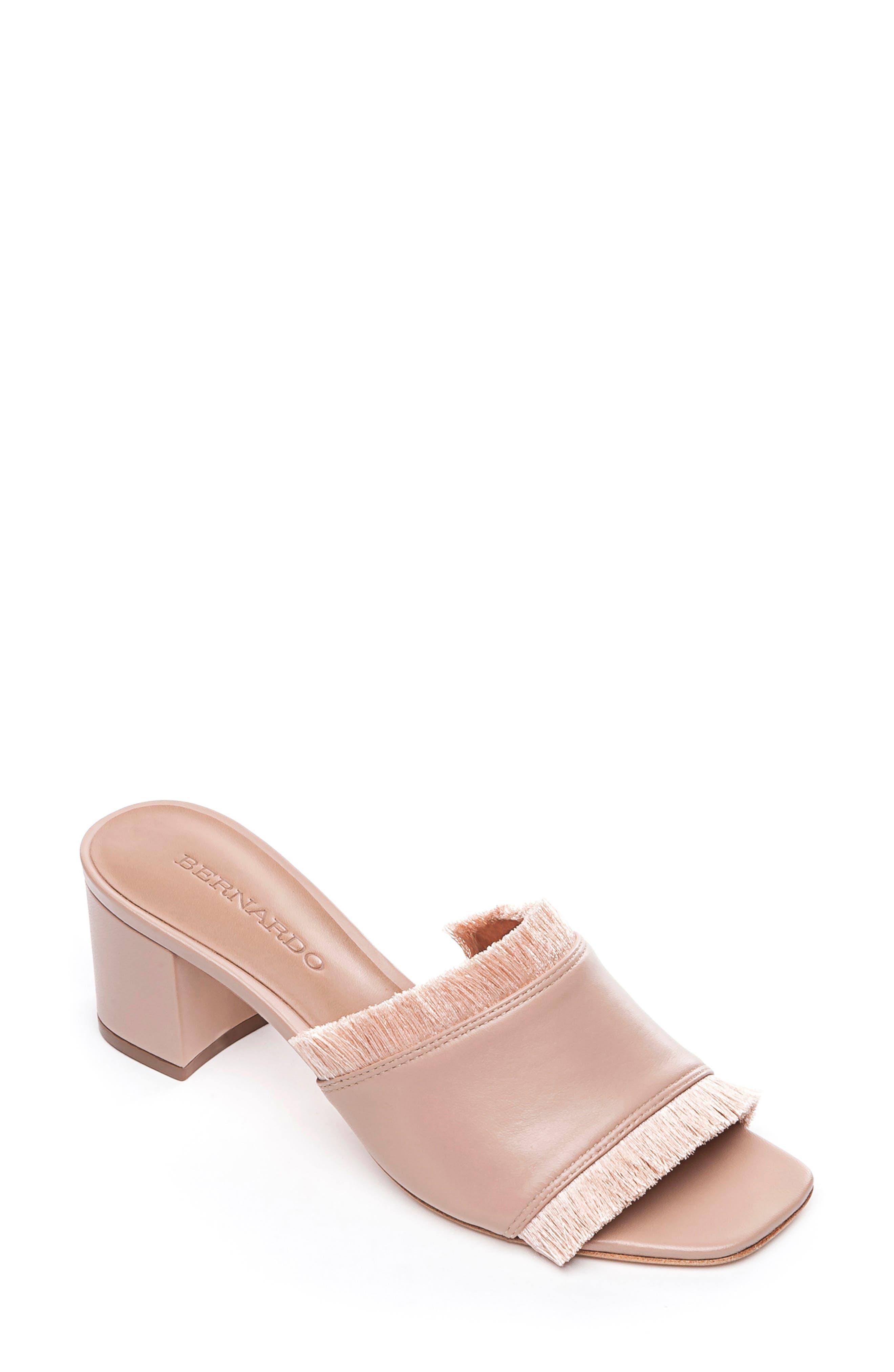 Bernardo Bryn Slide Sandal, Pink