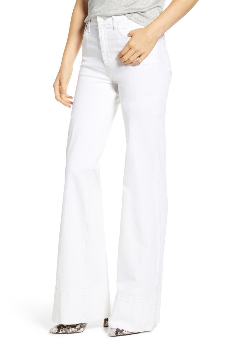 7 FOR ALL MANKIND<SUP>®</SUP> Modern Dojo Mega Hem Jeans, Main, color, SUNSET