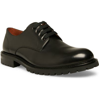Steve Madden Karbon Plain Toe Derby- Black