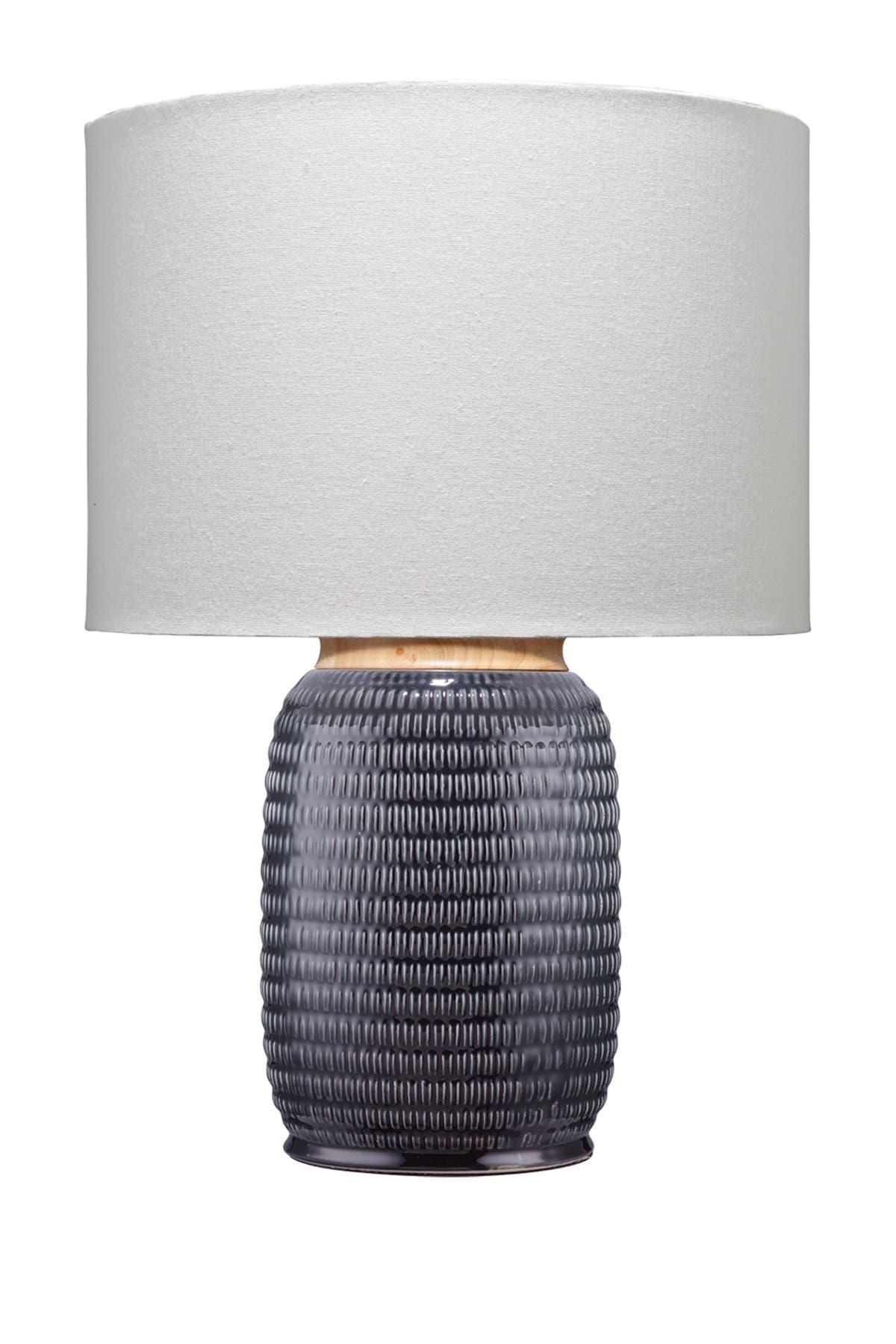 Image of Shine Studio Graham Table Lamp - Dark Navy Ceramic