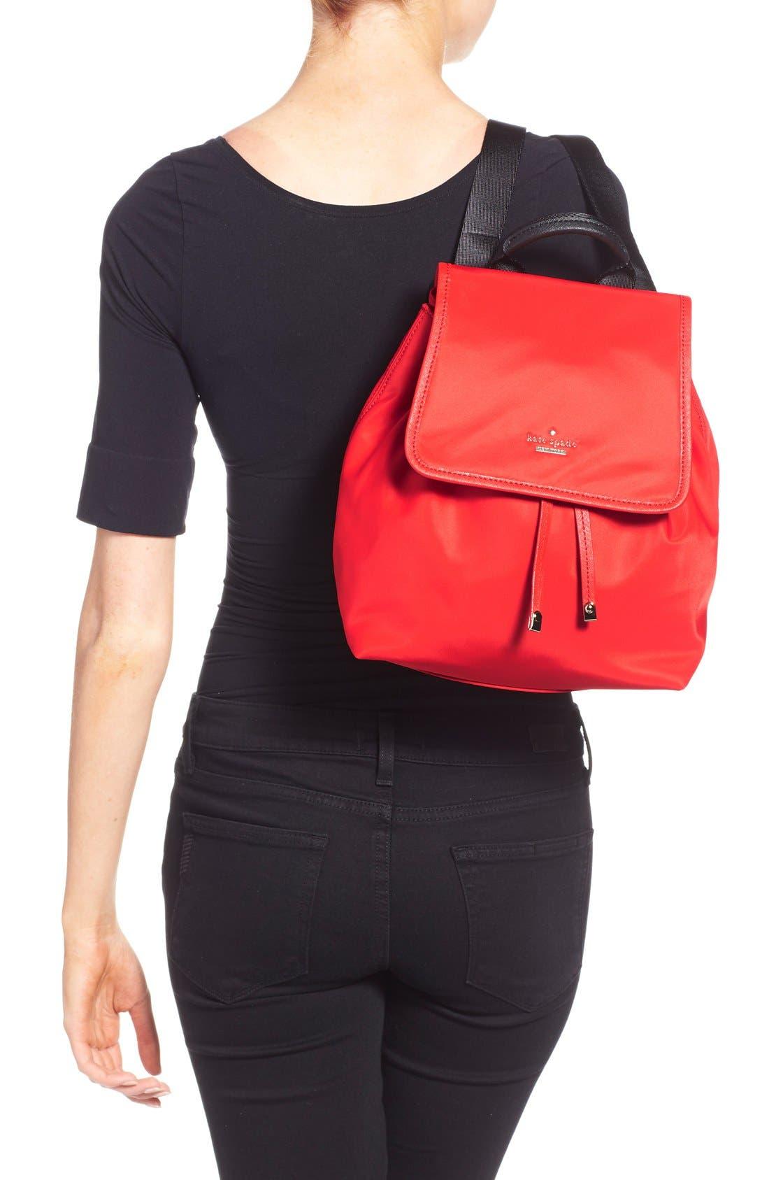 ,                             'molly' nylon backpack,                             Alternate thumbnail 4, color,                             600