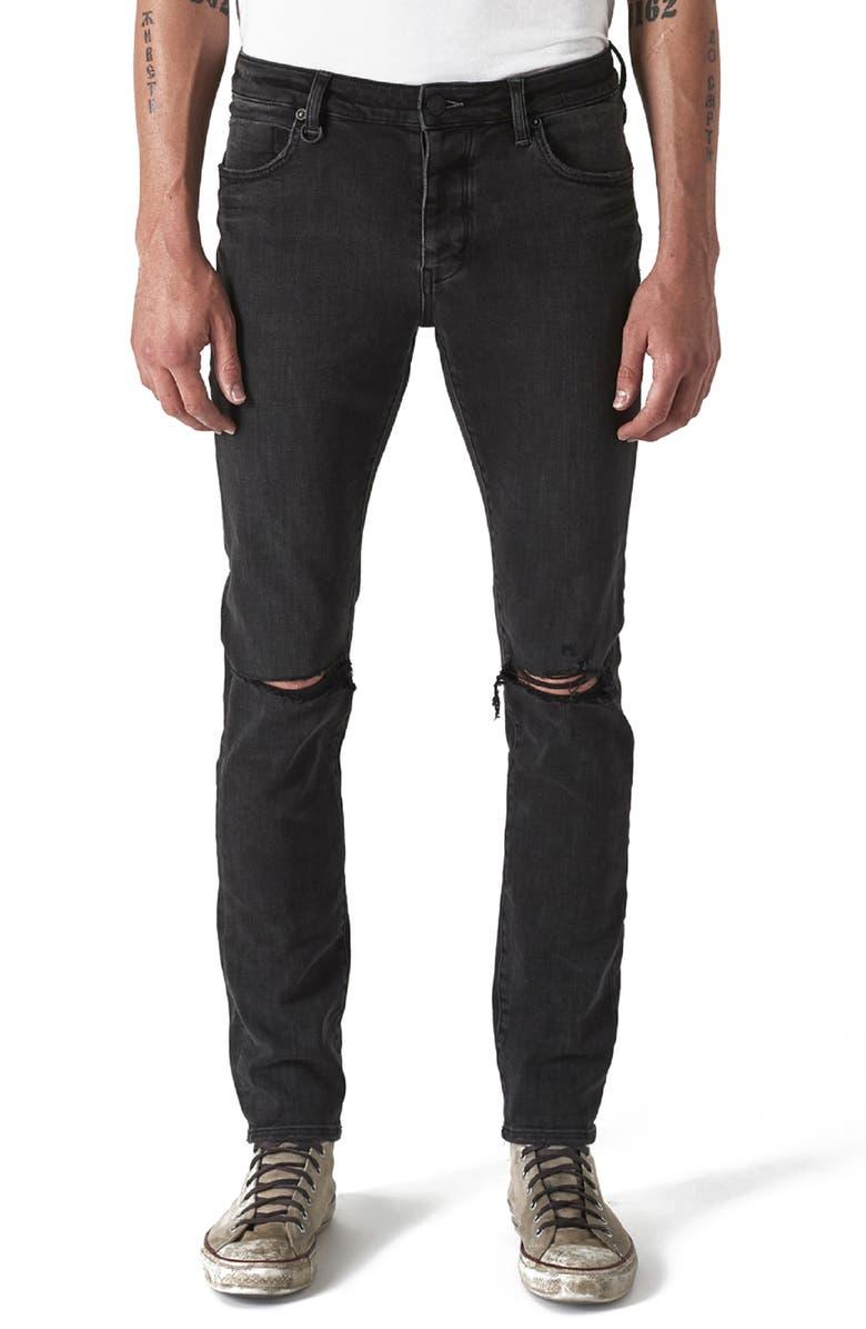 NEUW Iggy Ripped Skinny Fit Jeans, Main, color, REID