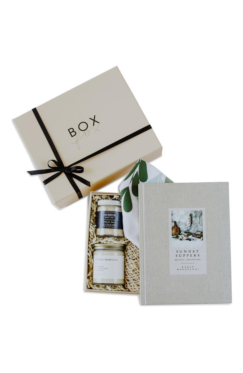 BOXFOX Heart & Home Gift Box, Main, color, NUDE