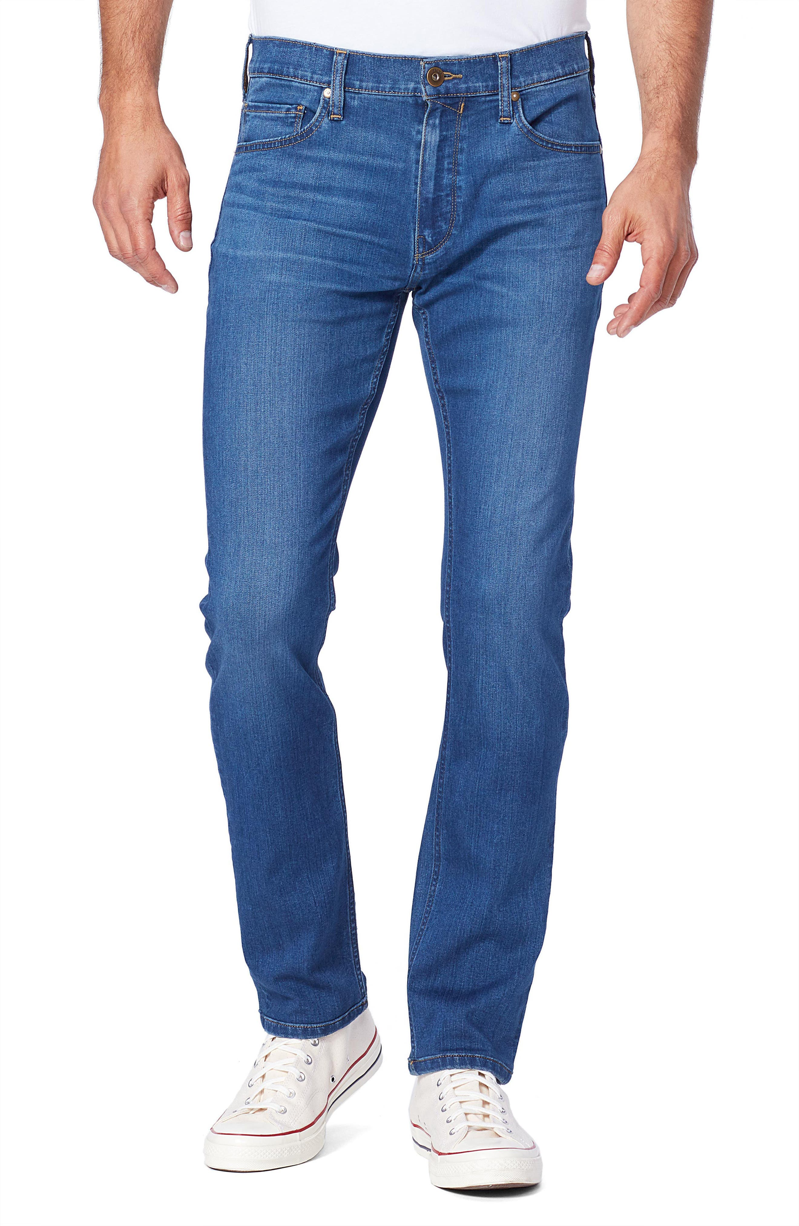 Image of PAIGE Transcend Federal Slim Straight Leg Jeans