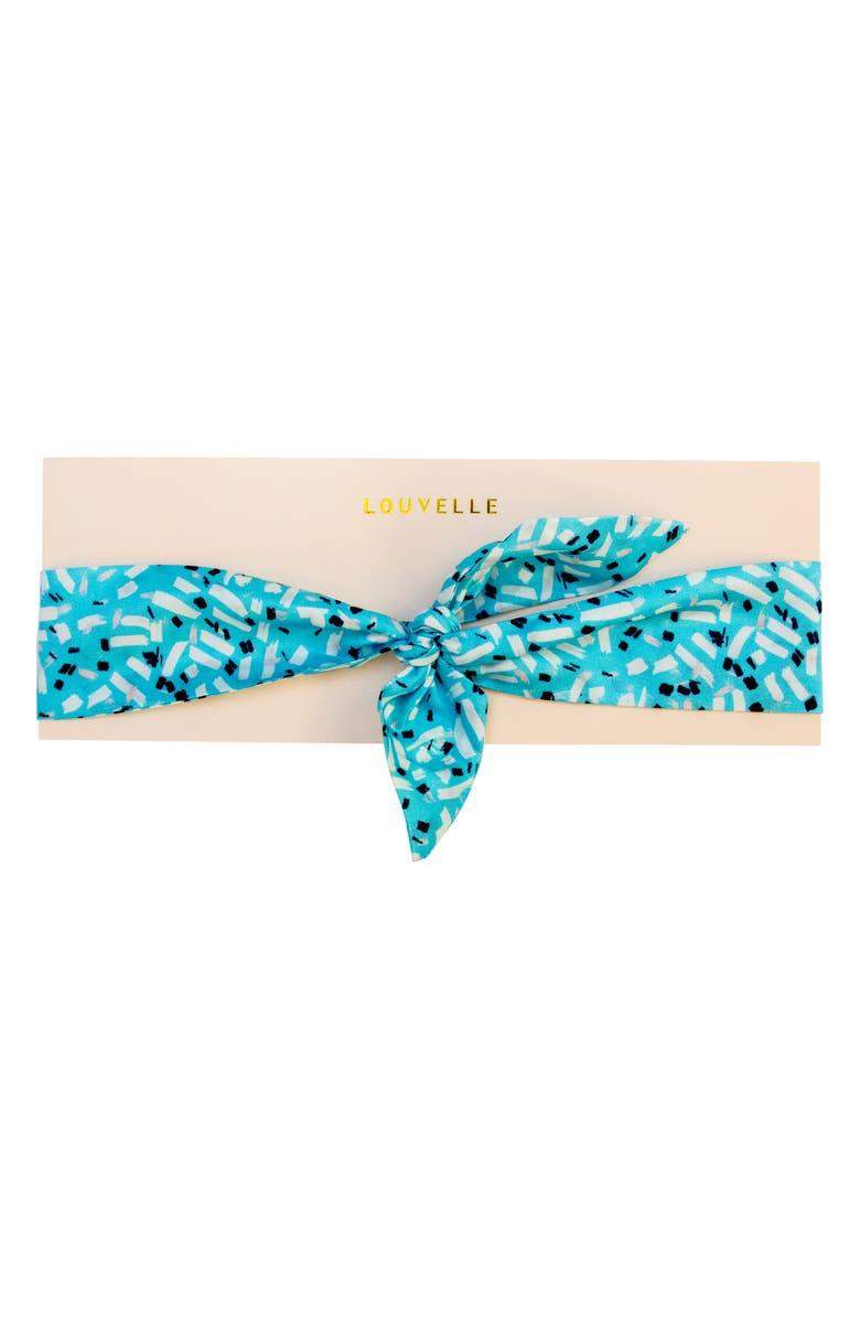 LOUVELLE Juliette Headscarf, Main, color, PACIFICA