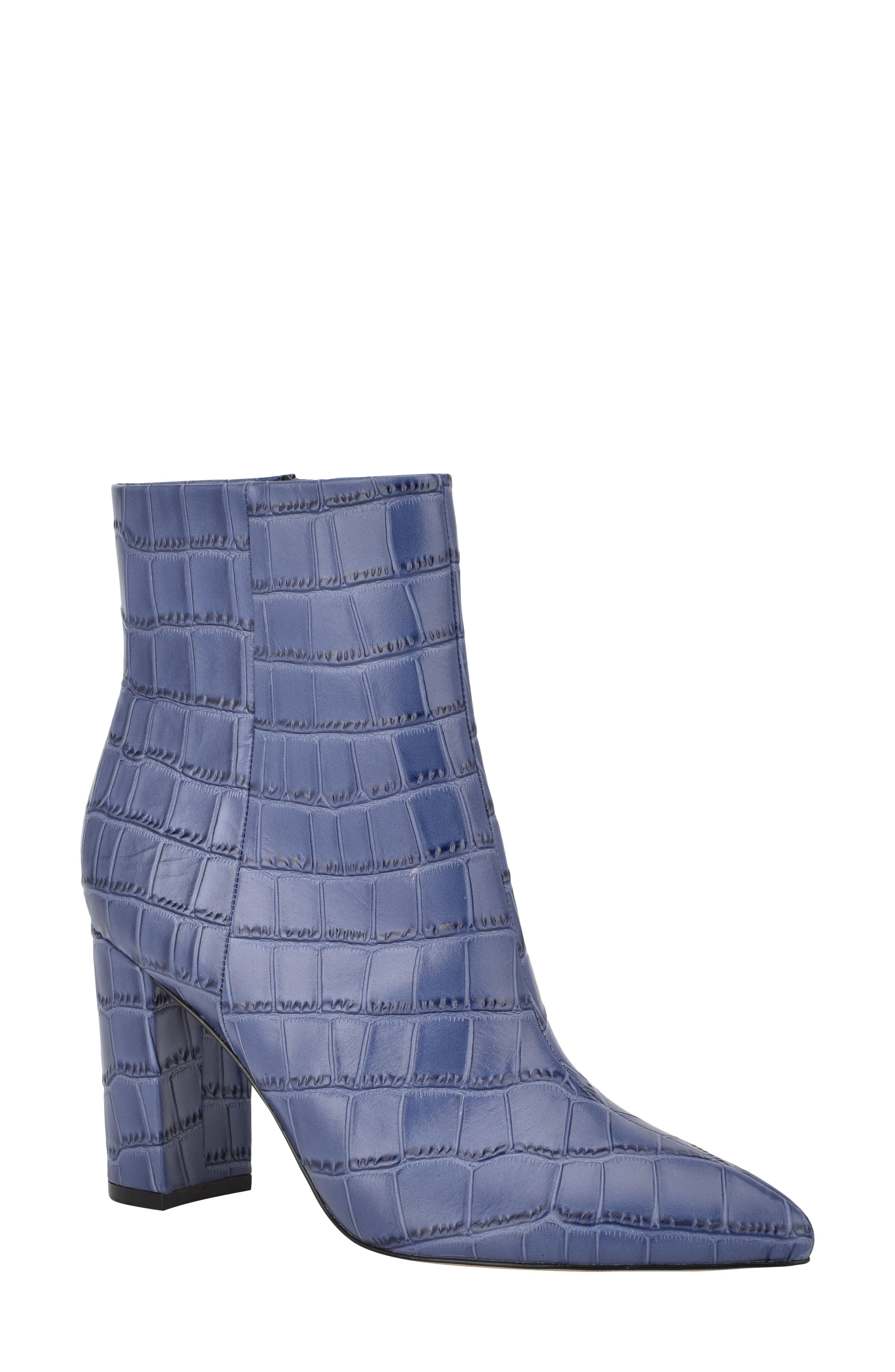 Image of Marc Fisher LTD Ulani Embossed Pointed Bootie