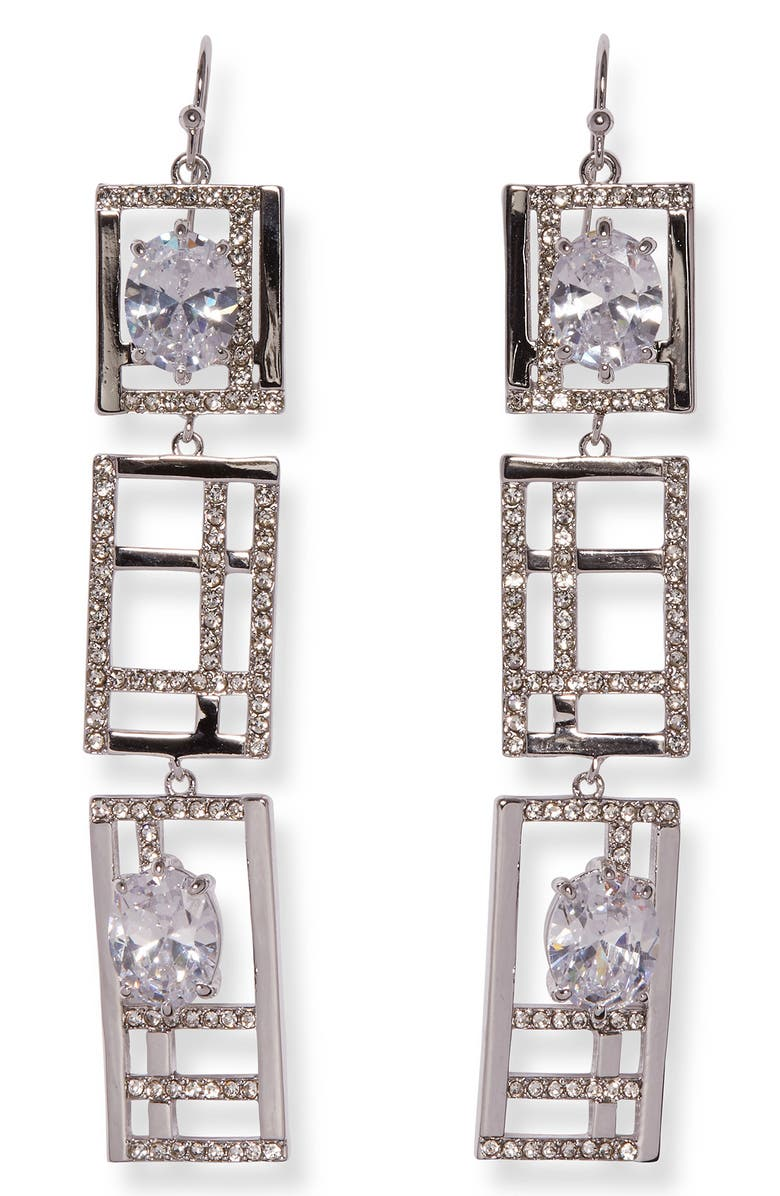 VINCE CAMUTO Linear Earrings, Main, color, 041