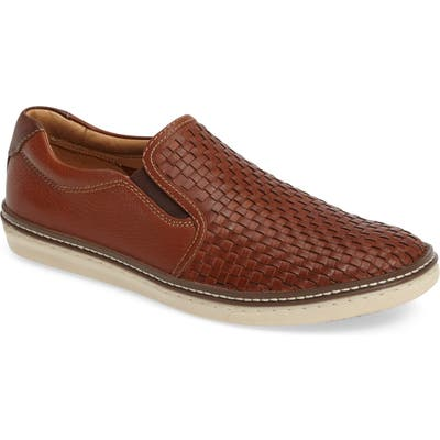 Johnston & Murphy Mcguffey Woven Slip-On Sneaker
