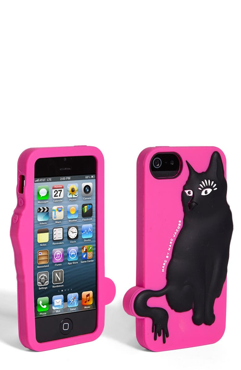 MARC JACOBS MARC BY MARC JACOBS 'Rue' iPhone 5 Case, Main, color, 650