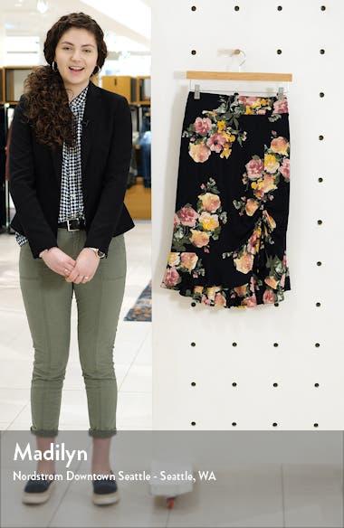 Siena Floral Print Skirt, sales video thumbnail