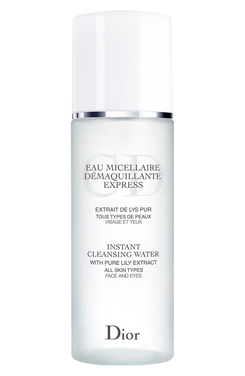 DIOR Instant Cleansing Water for All Skin Types, Main, color, 000