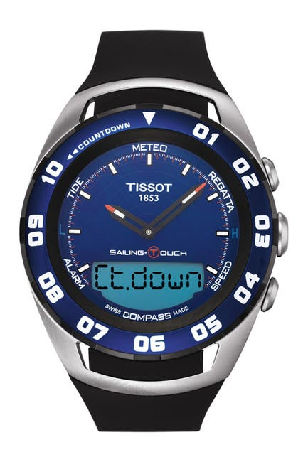 Image of Tissot Men's Sailing-Touch Sport Watch, 45mm