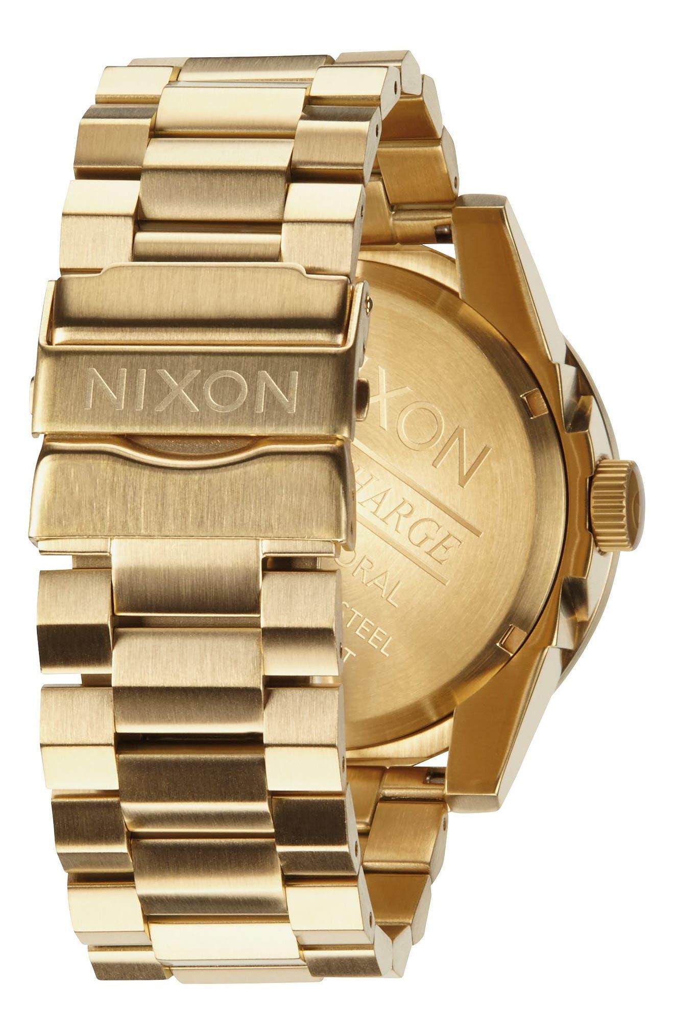 ,                             The Corporal Bracelet Watch, 48mm,                             Alternate thumbnail 2, color,                             GOLD