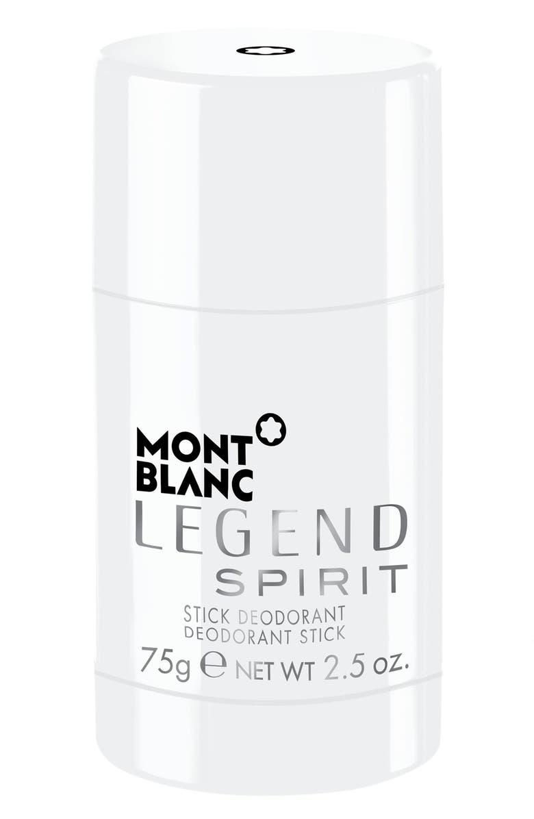 MONTBLANC Legend Spirit Deodorant Stick, Main, color, NO COLOR