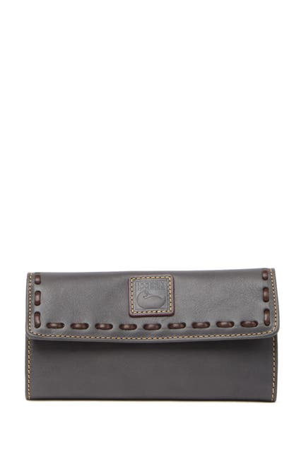 Image of Dooney & Bourke Continental Leather Wallet