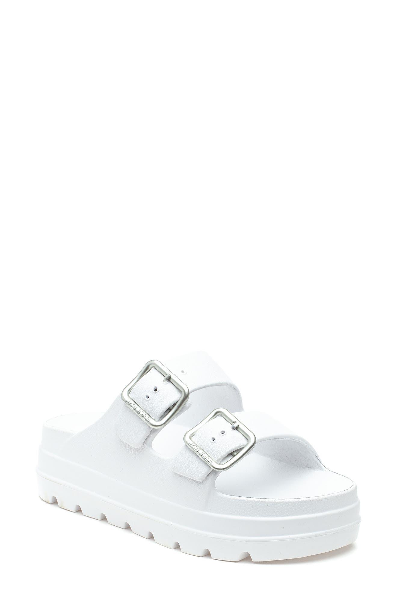 Simply Platform Slide Sandal